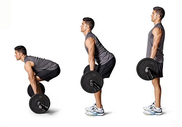 Как делать становую тягу со штангой