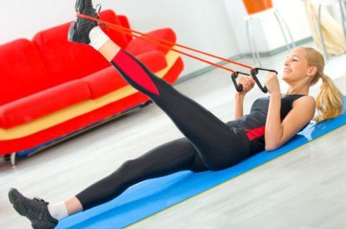 упражнения с эспандером для пресса