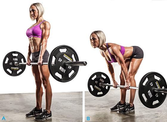 Упражнения для спины девушкам в тренажерном зале