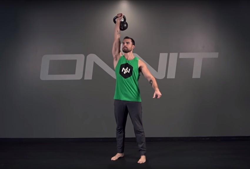 Поднятие гири вверх какие мышцы работают