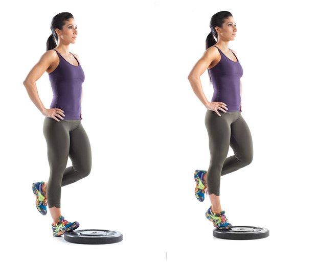 Как правильно делать подъем на носки сидя и стоя