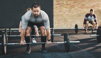 Силовая тренировка в кроссфите